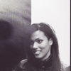 amihan: black and white image of freema agyeman as martha jones in doctor who, small smile on face ([doctor who] m. jones)