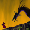 misbegotten: Fighting Disney dragons (Disney Maleficent Dragon)