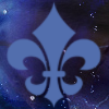 sofiaviolet: fleur de lis abstract celestial background (fleur de lis)