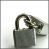 sofiaviolet: two silver padlocks, locked together (locked)
