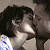 isagel: Adam and Fiona Carter of Spooks, kissing, her hand cupping his face, holding him. (spooks adam/fiona kiss)
