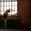 silly_cleo: A girl in a leotard stretching over a ballet bar. (dancing! - girl stretching)