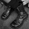sofiaviolet: boots with someone's feet in them (boots)