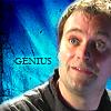 sgatazmy: Rodney with the word genius. (geinus)