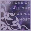 "sofiaviolet: ""not one of all the purple host"" -Emily Dickinson (purple host)"