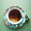 meroure: looking down into a cup of tea. (tea)