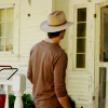 skieswideopen: Raylan Givens from behind (Justified: Raylan Givens back)