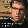 enigel: Daniel Jackson pouting (SG-1 Daniel not the prettiest!)