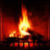 kass: A fire in the fireplace (fire)
