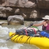 ilanarama: me in my raft (rafting)