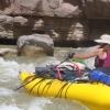 ilanarama: me in my raft (rafting)