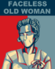 d_ballz: A poster of The Faceless Old Woman who secretly lives in your home. (faceless, night, old, to, vale, welcome, woman)