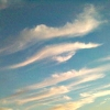 dglenn: Photo of clouds shaped like an eye and arched eyebrow (sky-eye)