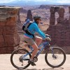 ilanarama: me on a bike on the White Rim trail (biking)