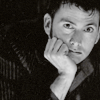 rhivolution: David Tennant does the Thinker (lost in a good thought: DW/DT)