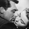 theladyscribe: Carey Grant embracing a woman (formative influence is formative)