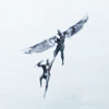 goodbyebird: Captain America 2: Sam snatches Steve out of the ait and hauls him upwards. (Avengers #marrieds)