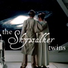 anghraine: luke and leia watching a giant spiral galaxy in esb; text: the skywalker twins (luke and leia [the skywalker twins])