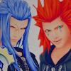 kawaiigami: (Axel and Saix)