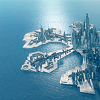 juniperphoenix: Aerial view of Atlantis (SGA: The City White hath left the Earth)