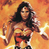 musesfool: Wonder Woman against a backdrop of flames (walk through the fire)