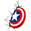 captainkyburz: cap shield in wall (pic#8566158)