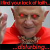 chazpure: his holiness pope palpatine (religion, lack of faith, palpatine)