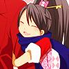 yatagarasu: (CLING ☄ arm squish!)