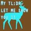aliaras: (teal deer)