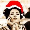 aerye: aerye's default icon with a santa hat (Default)