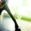 onthehill: Mikey Way's giant foot (mcr-mikey)