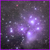 acelightning: purple starry sky (space)
