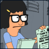 believerofdaydreams: (Tina Belcher)
