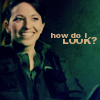 havocthecat: vala wants to know how she looks (sg1 vala looks?)