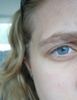 pensandpieces: Close up of my blue eyes (Blue Eyes)