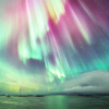 alexseanchai: green and pink aurora (Aurora)