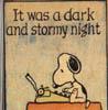 nashira: ((Peanuts) Stormy Night - Snoopy)