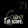 snickfic: text: Geno 71, I'm Score (geno)