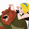 bjern: (Bear & girl) (Default)