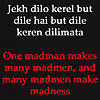 luludi: (Romany: madmen (Romany proverb))
