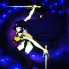 turlough: Lady Kayura fighting with two swords ((yst) the lady kayura)