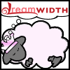 princess: dreamsheep with pink crown and light pink tint (princess sheep)