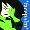 havocthecat: shego facepalms at stupid people, and everything else (kim possible shego facepalm)