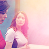 havocthecat: elizabeth weir and kate heightmeyer walking together (sga lizzie/kate)