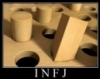 "tuzemi: INFJ motivational poster - ""The ultimate square peg"" (infj)"
