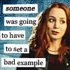 havocthecat: faith lehane is totally setting a bad example (btvs faith bad example)