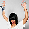 saekhwa: Fefe Dobson with her hands raised in the air like she's rockin' the fuck out. (rock on!)