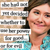 havocthecat: kaylee frye has not yet decided whether to use her power for good or evil (firefly kaylee good or evil)