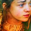 monanotlisa: Arya Stark of Winterfell, looking on (arya - got)