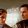 tsukinofaerii: Charles and Erik having eye sex (XFC: Eye sex)
